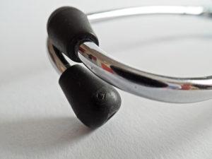 Ohrolive eines Stethoskopes
